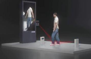 Virtuelle Schuhanprobe