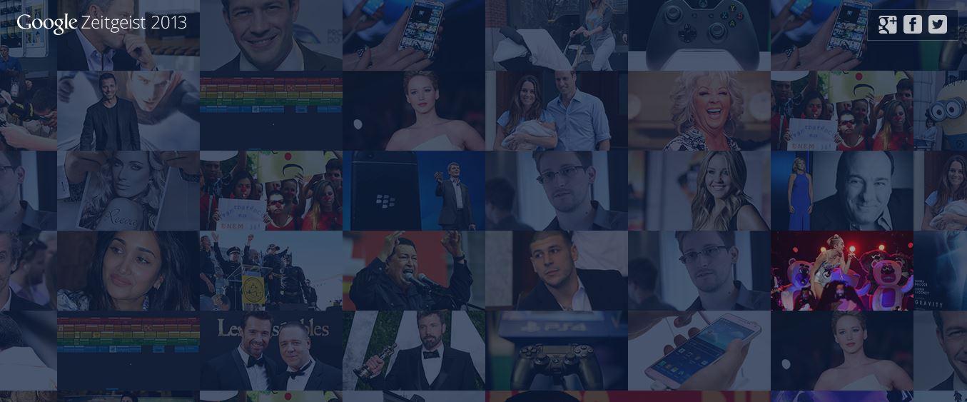 Zeitgeist 2013: Danach suchte Deutschland